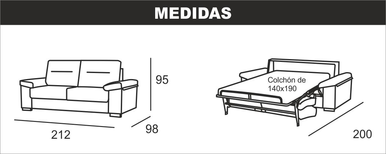 Medidas Soá Cama Italiana Megan S